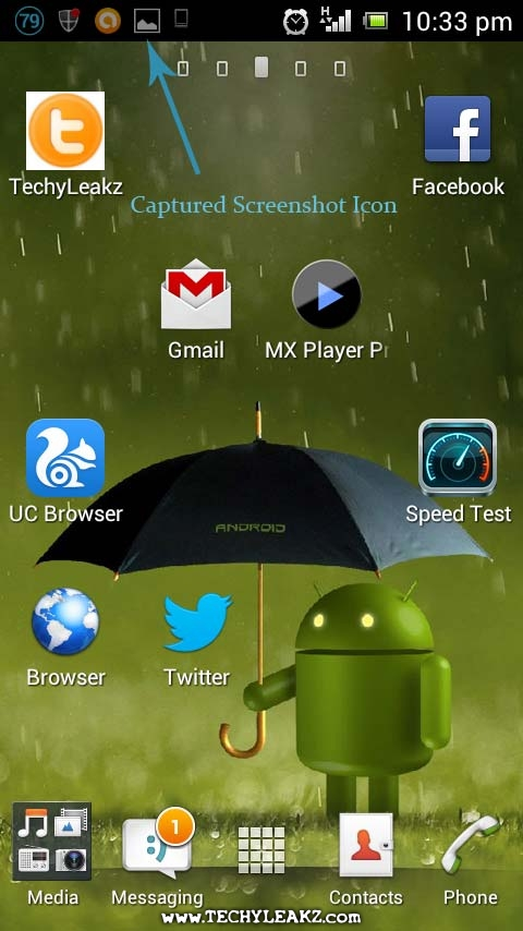 Take Screenshot in Sony Ericsson Xperia Neo V without Software