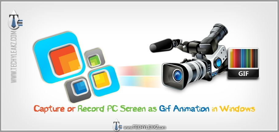 Capture or Record PC Screen as Gif Animation in Windows